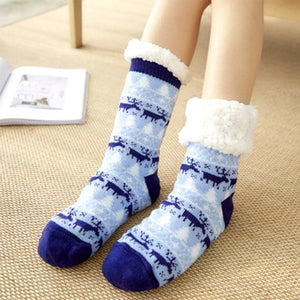 Festive Slipper Socks