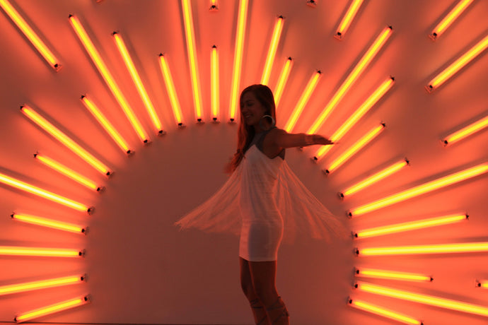 DANCING INTO THE SUNLIGHT