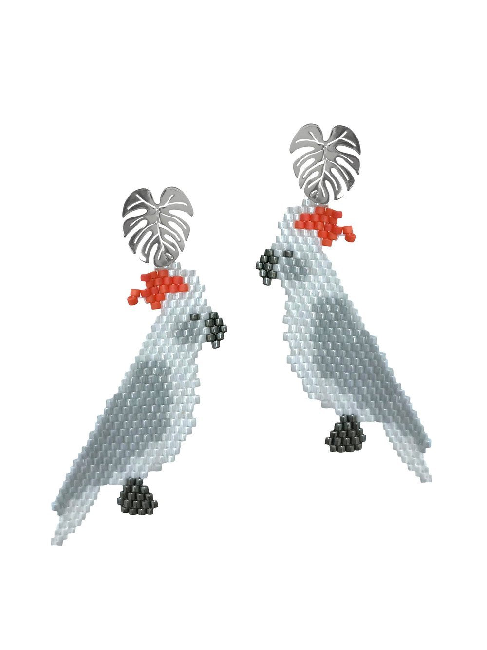 Cacatua Earrings - JETLAGMODE
