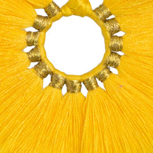 Load image into Gallery viewer, Yellow Wild Flower Earrings - JETLAGMODE