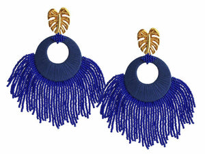 Blue Sunshine Earrings - JETLAGMODE
