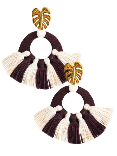 Brown Salpicon Earrings - JETLAGMODE