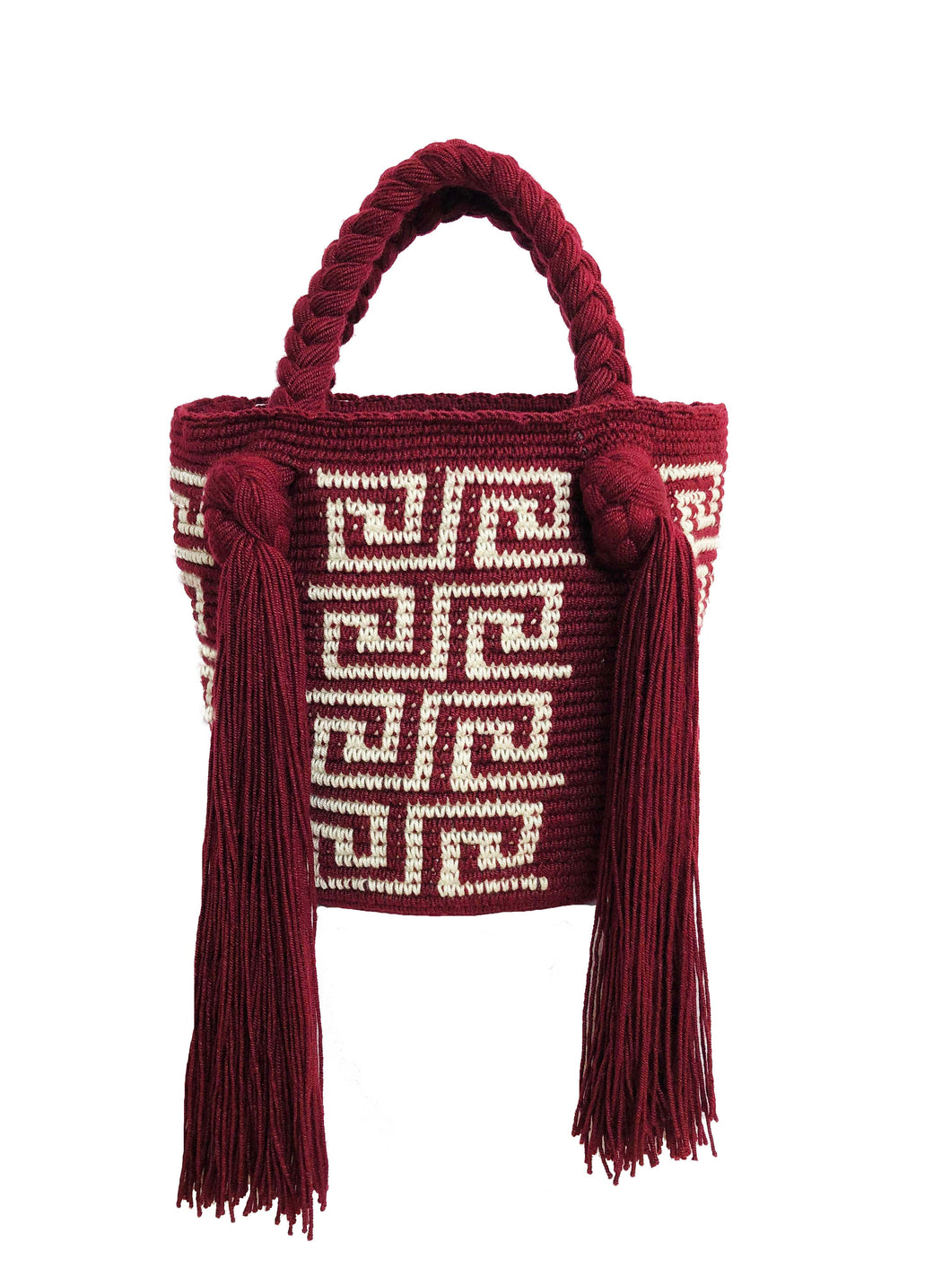 Burgundy Mini Bag - JETLAGMODE