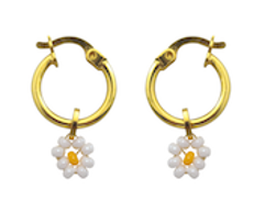 Daisy Mini Earrings - JETLAGMODE
