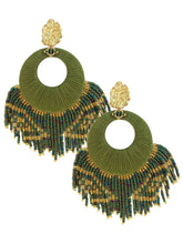 Load image into Gallery viewer, Olive Sunshine Earrings - JETLAGMODE