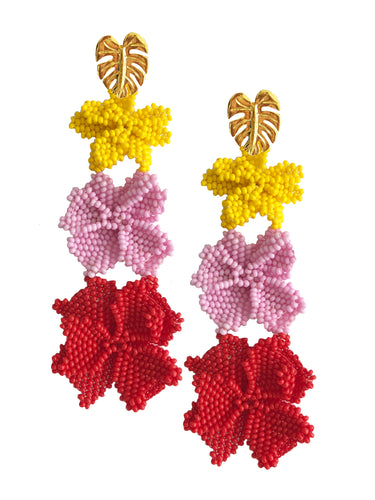 Multicolor Garden Earrings - JETLAGMODE