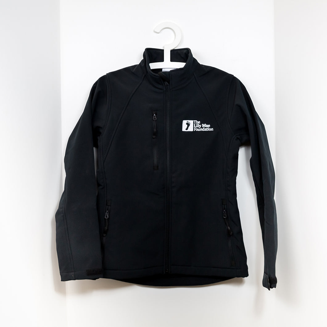 Black Lily Mae Foundation Branded Jacket