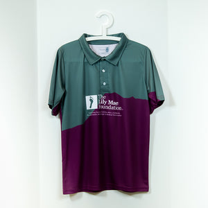 Lily Mae Foundation Branded Sublimated Polo Shirt