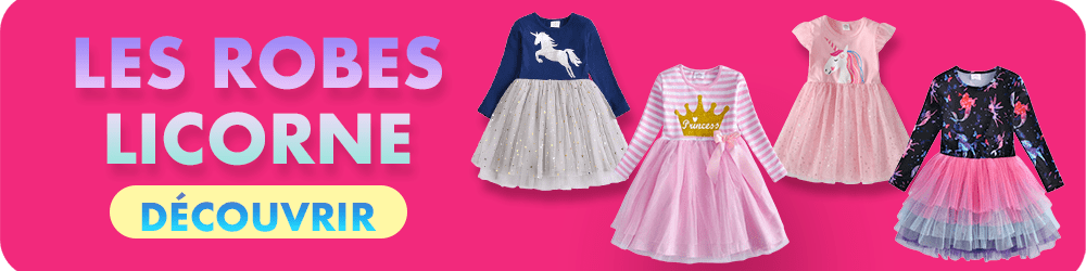 Collection robe licorne