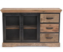 Load image into Gallery viewer, Baxter Reclaimed Wood and Metal Sideboard