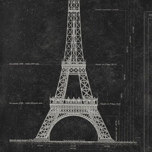 MTG Wallpaper Grand Eiffel Anthracite WP20218