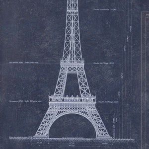 MTG Wallpaper Grand Eiffel Blue WP20219