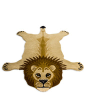 Load image into Gallery viewer, Hand Tufted Lion Woollen Rug