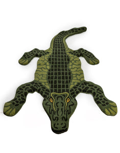 Hand Tufted Crocodile Woollen Rug