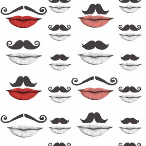 MTG Wallpaper Moustache and Lips WP20084