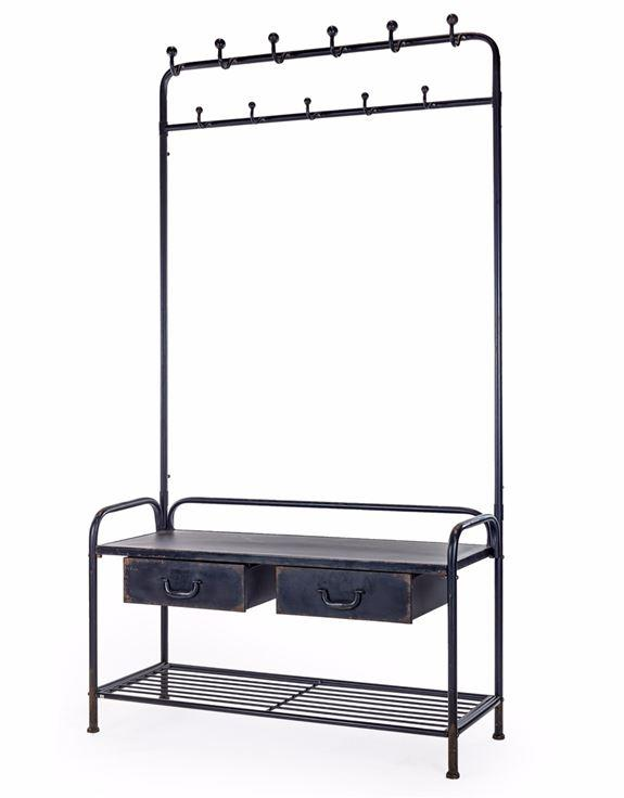 Black Metal Coatrack