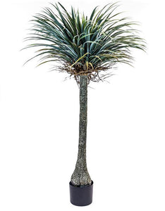 Extra Large Potted Faux Yucca Tree