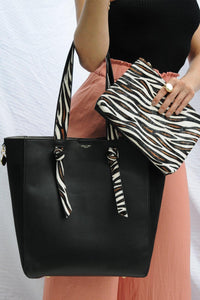 Astrid Large Shopper Handbag worn view