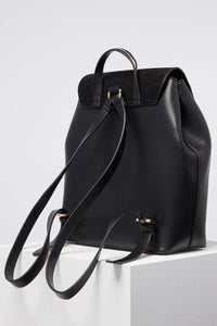 Bella Black Large Backpack