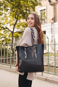 Astrid Black Oversized Multiway Shopper