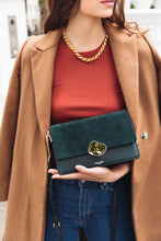 Load image into Gallery viewer, Esme Forest Green Small Cross Body Bag