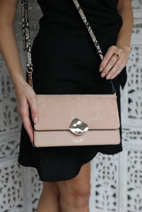 Esme Blush Day to Evening Cross Body Model View
