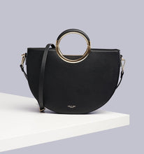 Load image into Gallery viewer, Elodie Black Multi Compartment Cross Body