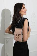 Load image into Gallery viewer, Holly Blush Small Phone Handbag Model View
