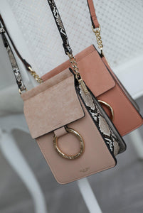 Holly Blush Small Phone Handbag Group View