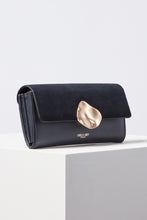 Load image into Gallery viewer, Layla Navy Multi Compartment Purse