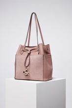 Load image into Gallery viewer, Ophelia Mink Large Drawstring Shopper