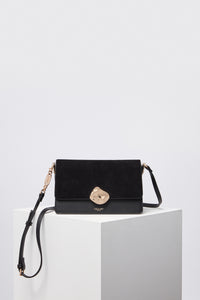 Esme Black Cross Body Bag Front View