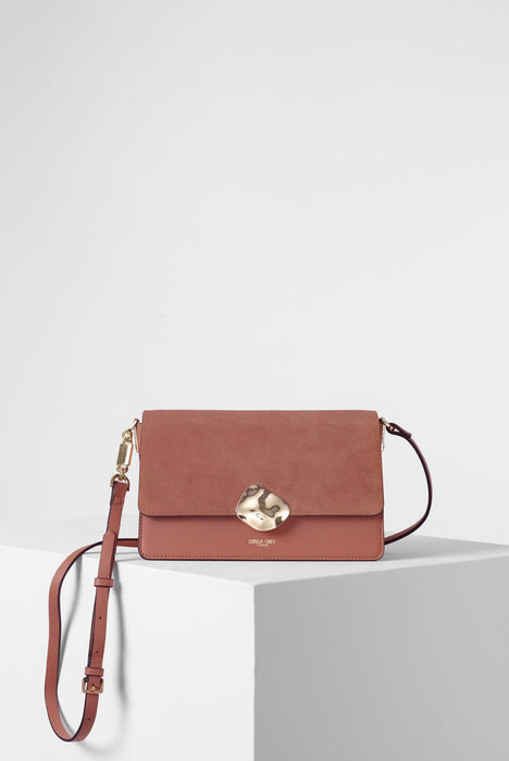 Esme Apricot Day to Evening Cross Body front View