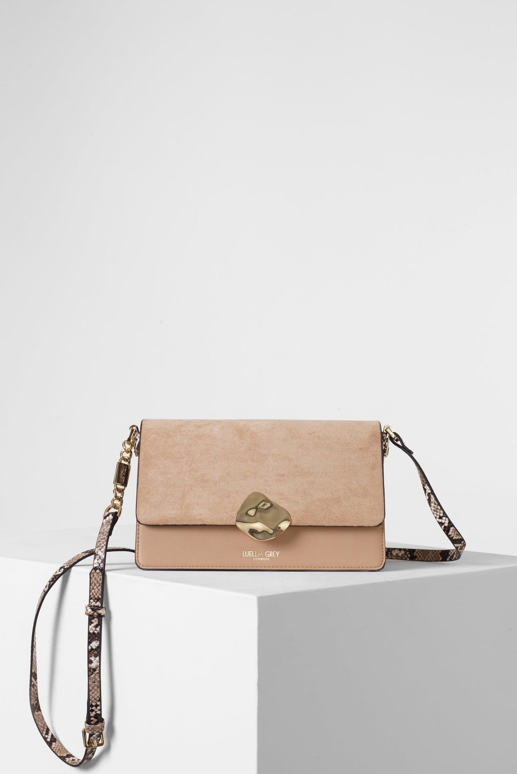 Esme Blush Day to Evening Cross Body front View