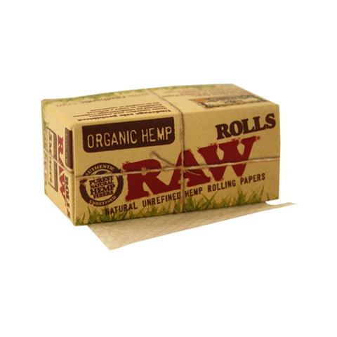 Foaie in rola 'RAW' Organic Hemp