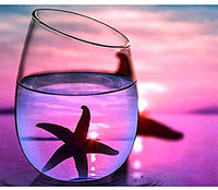 Starfish Glass Reflection Diamond Painting