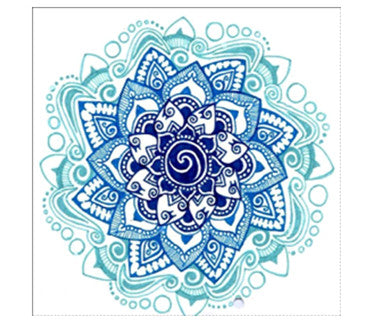 Blue Mandala Diamond Painting