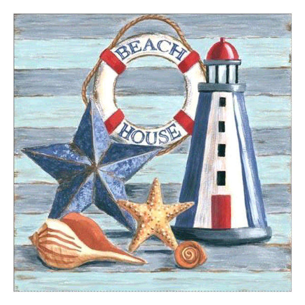 Beach Decor Diamond Painting