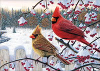 Winter Bird Diamond Painting