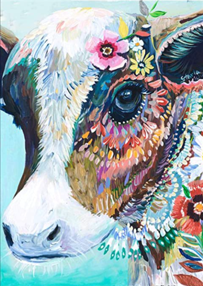 Cow Diamond Painting