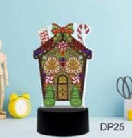 Gingerbread House Lamp