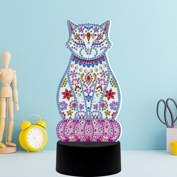 Diamond Painting Lamp