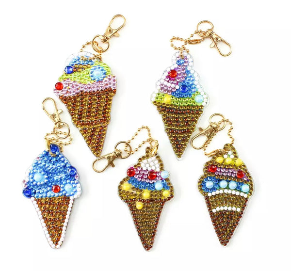 Ice Cream Keychains