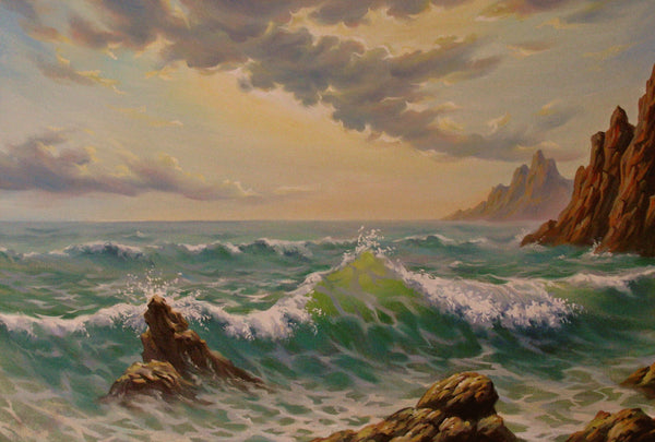 Ocean Waves Diamond Painting