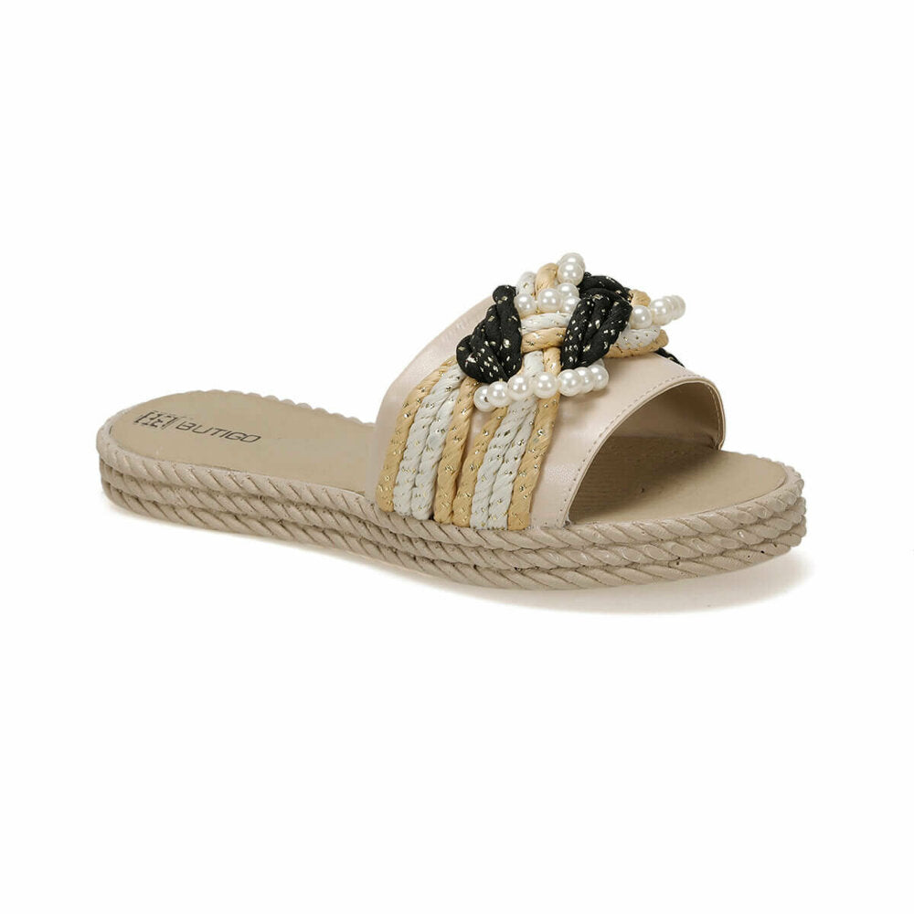 Women's Pearl Beige Slippers