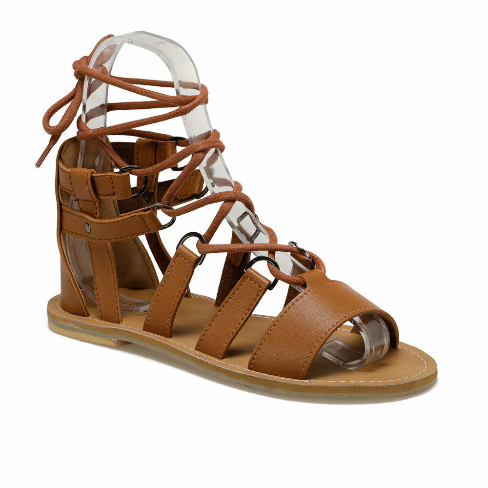 Women's Lace-up Ginger Sandals