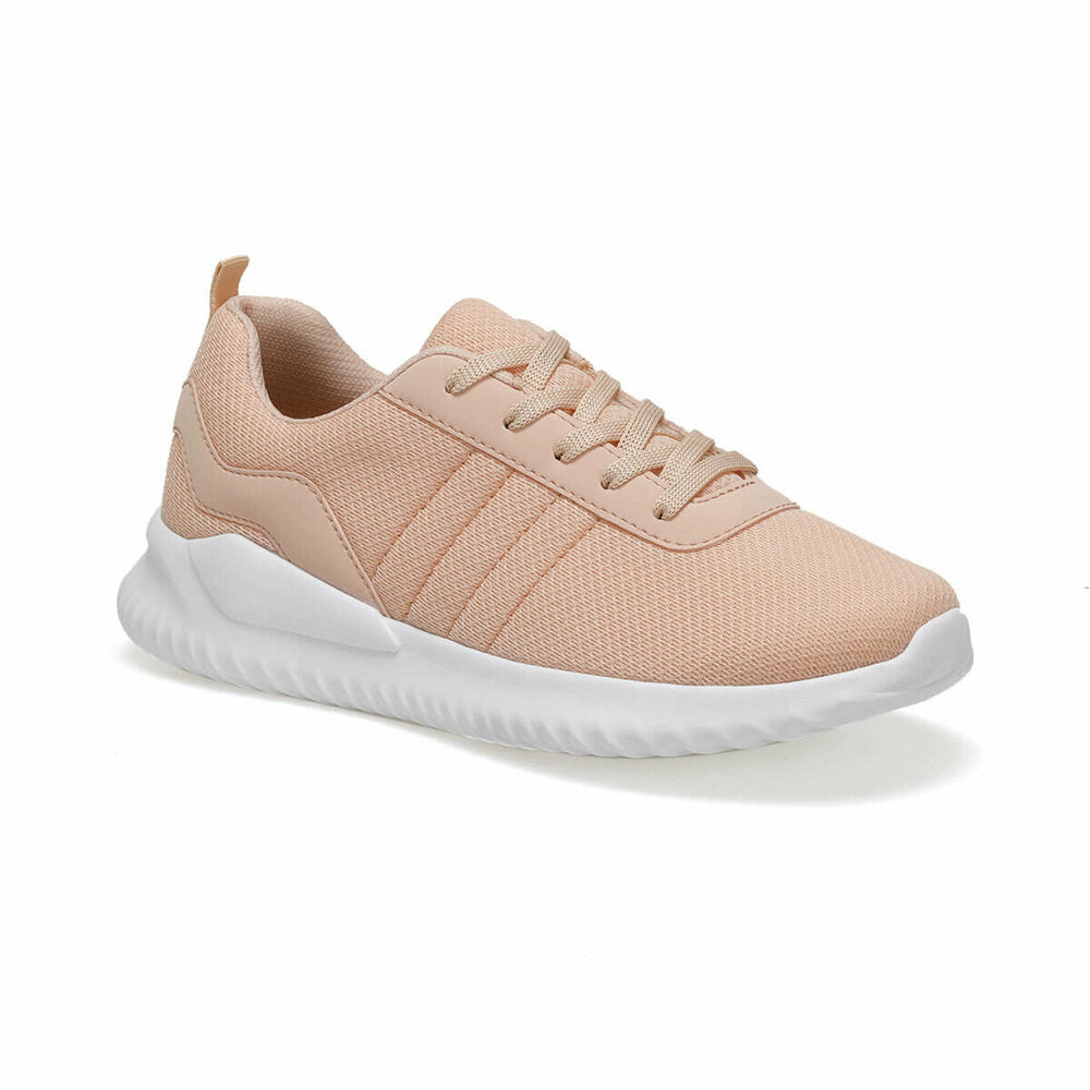 Women's Lace-up Salmon Sneakers