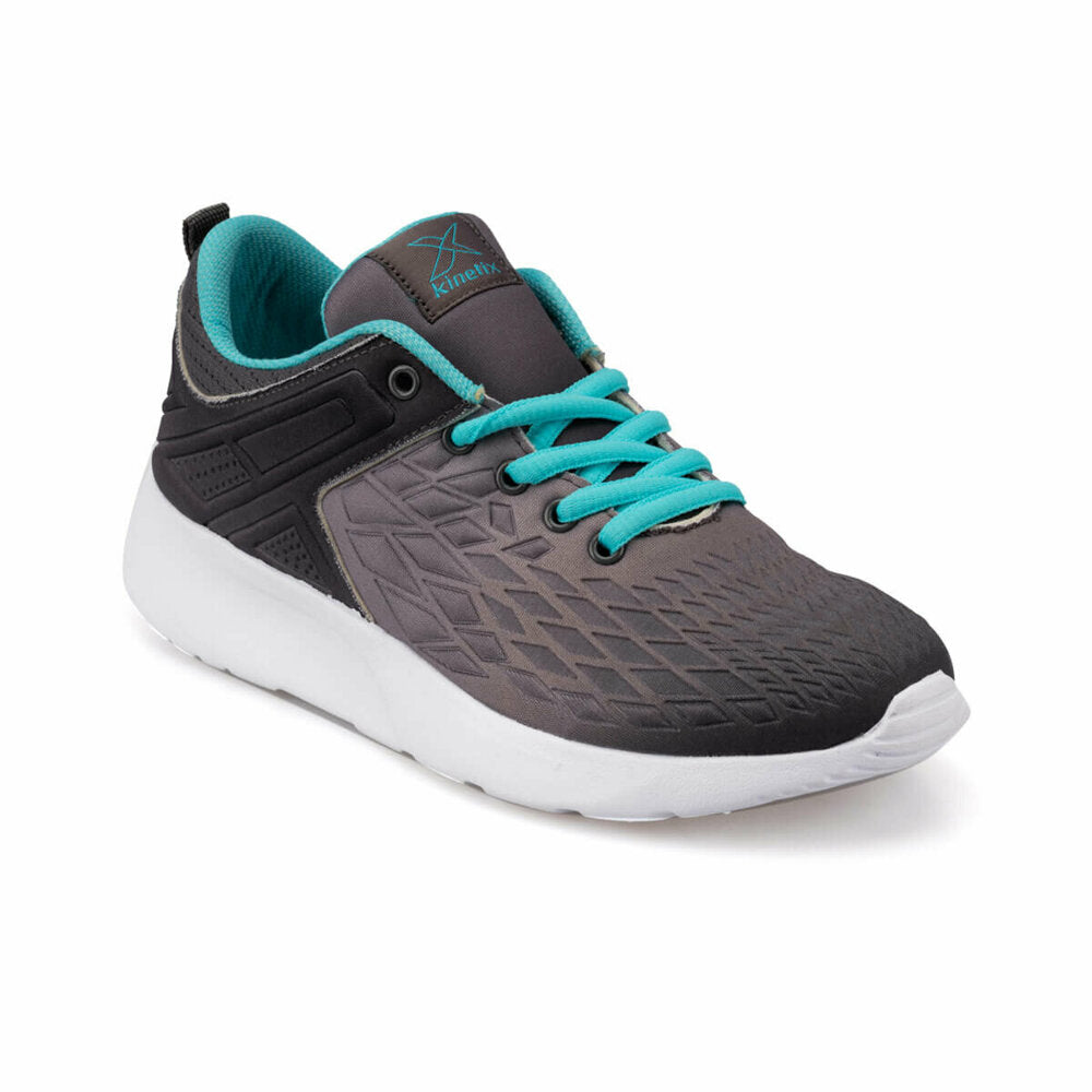 Women's Lace-up Grey Sneakers