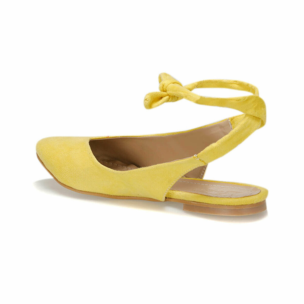 Women's Yellow Suede Babette