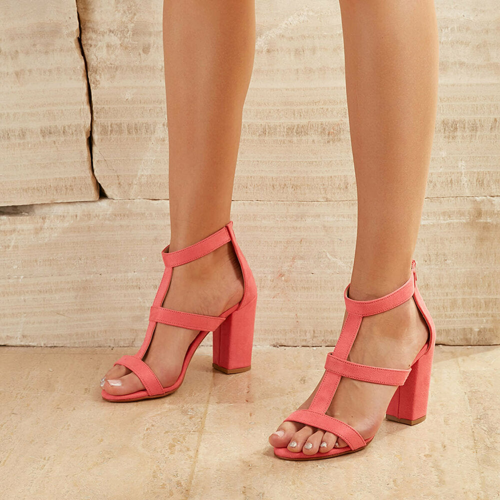 Women's Coral Suede Sandals